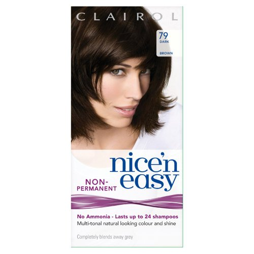 Clairol Nice 'N' Easy By Lasting Colour 79 Dark Brown front-292207