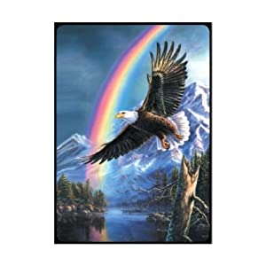 Bridge Score Pad - Eagle of Promise - 50pages - 3.5 x 5.5 - Pack of 3