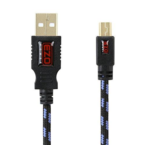 Ezopower Mini-Usb Usb Data Cord Braided Jacket Cable For Garmin Nuvi / Magellan Roadmate / Tomtom Gps Navigator