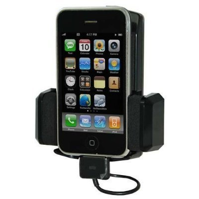 Fm Transmitter + Car Charger + Holder For Iphone 3Gs 3G Ipod Touch 4Gb, 8Gb, 16Gb, 32Gb, 64Gb, 120Gb, 160Gb
