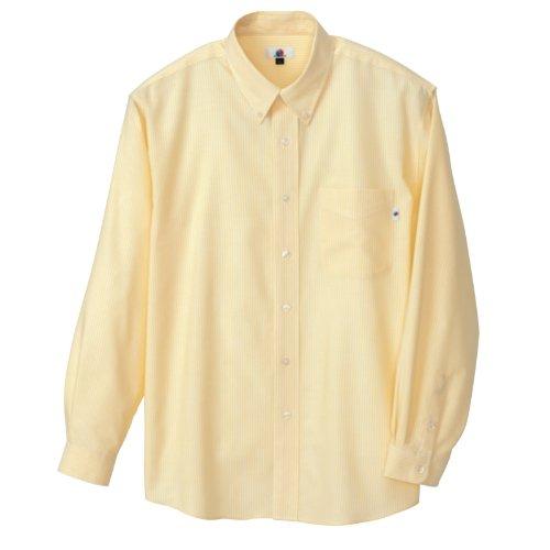 AITOZ   クールマックス長袖オックスボタンダウンシャツ【吸汗速乾】 #AZ-7670