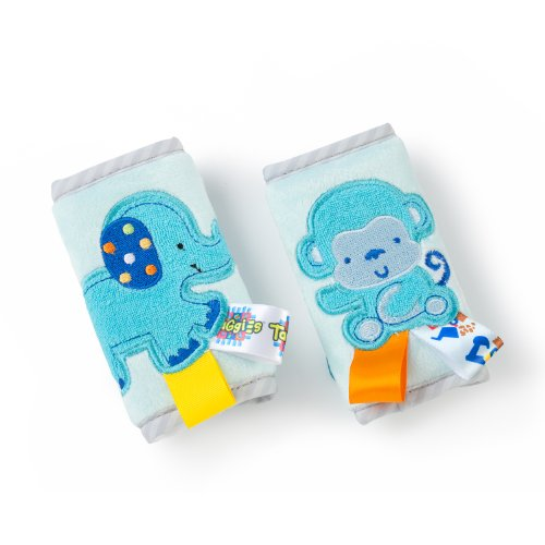 Taggies Strap Covers, Blue front-1014102