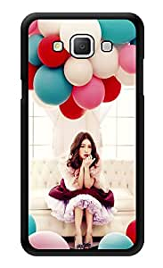 """Humor Gang Girl With Balloons Printed Designer Mobile Back Cover For """"Samsung Galaxy A5"""" (3D, Glossy, Premium Quality Snap On Case)"""