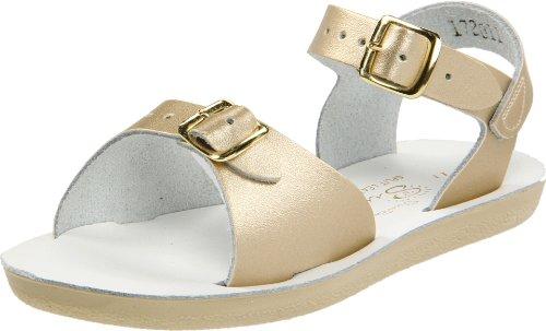 Salt Water Sandals By Hoy Shoe Surfer Sandal (Infant/Toddler/Little Kid),Gold,13 M Us Little Kid front-309746