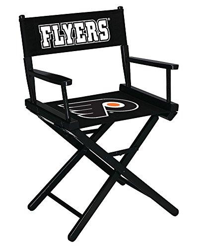 Nhl Philadelphia Flyers Table Height Director'S Chair