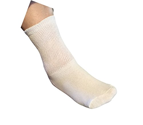 white-diabetic-crew-socks-gentle-extra-wide-comfort-6-pairs-size-10-13