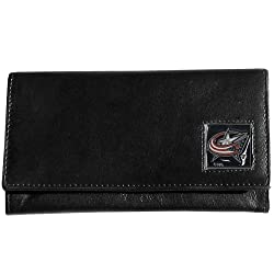 NHL Columbus Blue Jackets Genuine Leather Women's Wallet