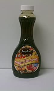 Joseph's Sugar Free Maple Flavor Syrup, 12oz
