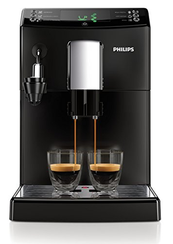Philips HD8832/01 3100 Serie Kaffeevollautomat, automatischer Milchaufschäumer, schwarz thumbnail