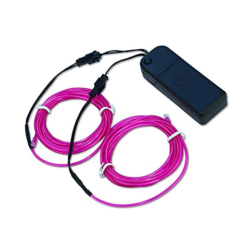 Amazing Neon Tube Glowing Purple Double 2.5 Metres El Wires Comes With Inverter By Zitrades