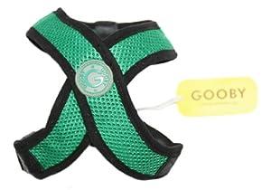 Gooby Comfort Dog Harness, Medium, Green