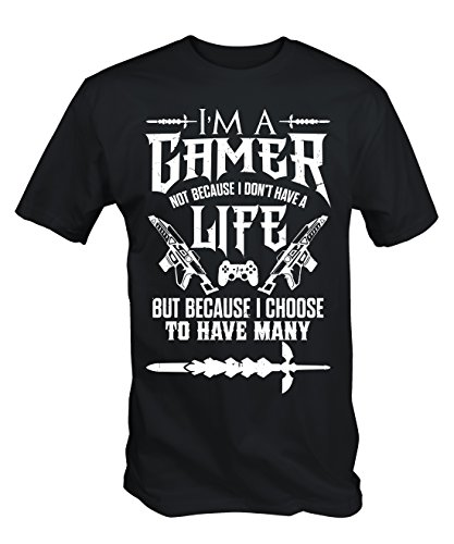 6TN-Mens-Im-a-Gamer-T-Shirt