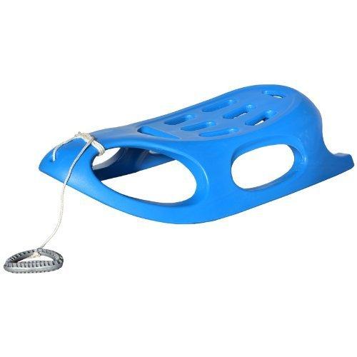Hansson-Luge-Luge-pour-enfant-en-plastique-avec-poigne-Corde-Bleu