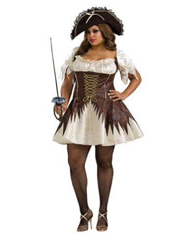 Buccaneer Pirate Womens Plus Halloween Costume - Adult Plus