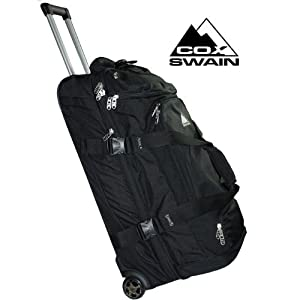 "Cox Swain wheeled holdall Trolley Travel Bag ""wheelie professional"" 107 / 117 litre from Cox Swain"