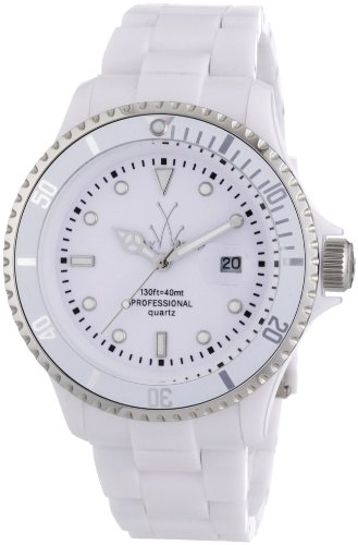 Toy Watch Plasteramic White Dial Unisex Watch FL24WH