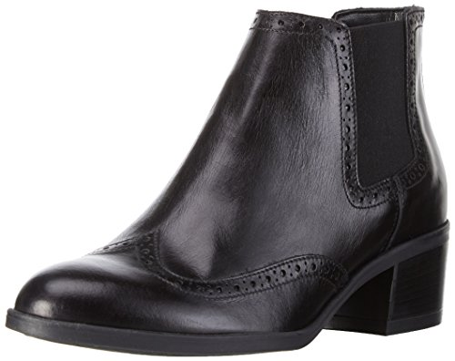 Clarks Calne Cristie, Stivali a Gamba Larga Donna, Nero (Black Leather), 39.5 EU