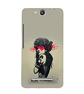 printtech Pop Culture Girl Back Case Cover for Micromax Canvas Juice 3 Q392