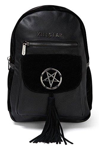 Kill Star in pelle Mini Zaino okkult-Morgan Donna & velluto Backpack pentacolo
