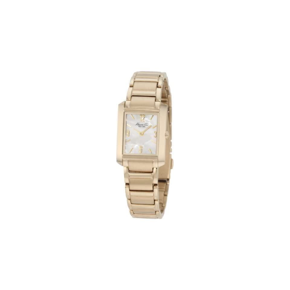 Anne Klein Womens 10 5404CHGB Gold Tone Dress Watch