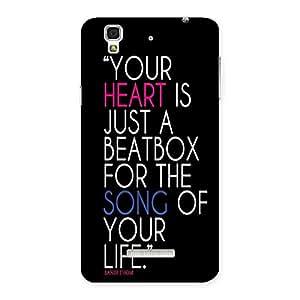 AJAYENTERPRISES Your Is Heart Back Case Cover for Yu Yureka