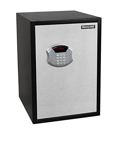 Honeywell 2.81 Cu. Ft. Steel Security Safe, Black/Chrome