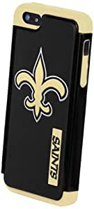 Forever Collectibles New Orleans Saints Rugged Dual Hybrid Apple iPhone 5 & 5S Case