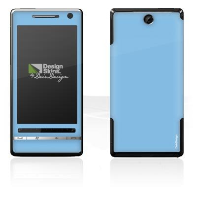 Design Skins für O2 XDA Diamond 2 - Electric blue Design Folie
