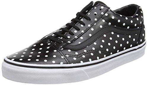vans-old-skool-unisex-erwachsene-sneakers-schwarz-polka-dots-black-39-eu