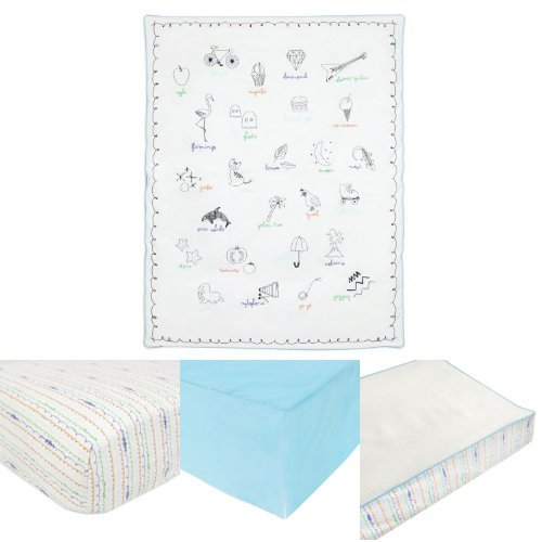 Babyletto Alphabets Essentials with Play Blanket
