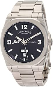 Armand Nicolet Men's 9650A-BU-M9650 J09 Casual Automatic Stainless-Steel Watch