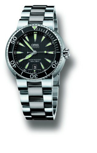 ORIS Wrist Watches:Oris Men's 733 7533 8454MB Divers TT1 Automatic Stainless Steel Watch Images