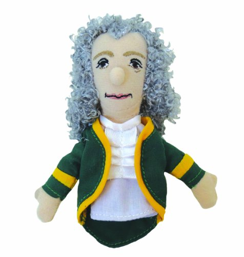 Voltaire Finger Puppet and Refrigerator Magnet - By The Unemployed Philosophers Guild
