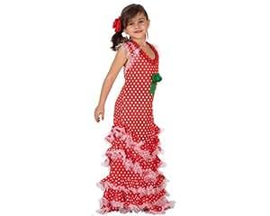 Amazon.com: DISFRAZ DE SEVILLANA ROJO TALLA 4: Toys & Games