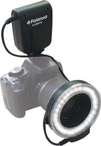 Polaroid Macro LED Ring Flash & Light For Nikon SLR Cameras (Will Fit 52,55,58,62,67,72,77mm Lenses)