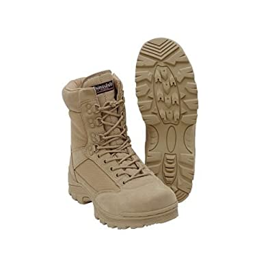 "Voodoo Tactical 04-837901320 Mens Khaki Tan Size 9.5 Wide 9"" Tactical Boots"