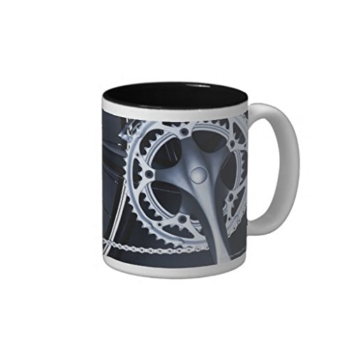 Close Up Of Bicycle Chain, Pedal And Gears Coffee Mug