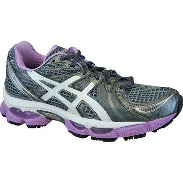 ASICS Womens GEL Nimbus 13 Grey/Purple Running Shoe Size: 10