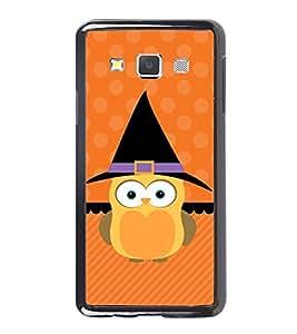Printvisa Ultra Cute Owl 2D Hard Polycarbonate Designer Back Case Cover for Samsung Galaxy A7