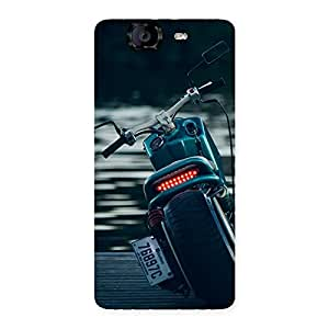 Ajay Enterprises Fill Cruise Bike Multicolors Back Case Cover for Canvas Knight A350