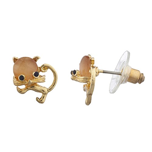lux-accessoires-veritable-aux-nuances-dorees-orange-stud-boucles-doreilles-clous-fantaisie-chat-meow