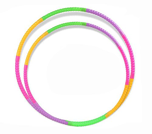Children Hula Hoop for Fitness, 7 & 8 segmented, Workout for Kids, Exercise Dancing Games - 19.6 inch