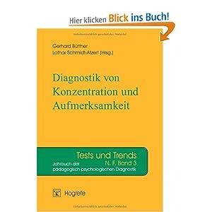 diagnostik von konzentration und aufmerksamkeit. Black Bedroom Furniture Sets. Home Design Ideas