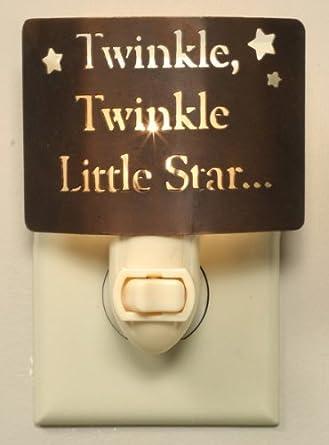 Kids Night Light ~ Twinkle Twinkle Little Star... Exclusive Childrens Nightlights