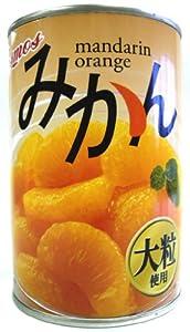 コスモス みかん(大粒)4号缶EO 425g×24個