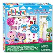 Lalaloopsy Tattoo Kit - 1
