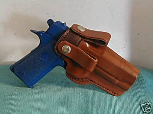 BERSA .380 THUNDER PRO CARRY DEEP COMFORT IWB LEATHER GUN HOLSTER BROWN NEW