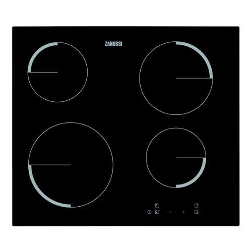 zanussi-zev6240fba-touch-control-four-zone-ceramic-hob-black