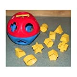 Toy Game Fantastic TUPPERWARE Shape Super O Ball Toy - Classic Rattle, Shape-sorter And Counting Toy! Kid Child Play
