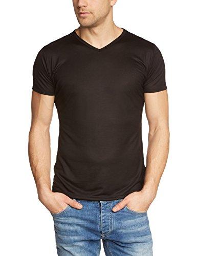 Trigema Herren T-Shirt V-Shirt, Einfarbig, Gr.